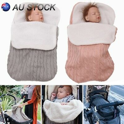 AU Durable Baby Pushchair Footmuff Buggy Stroller Pram Foot Cover Sleeping Bags