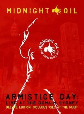 Midnight Oil Armistice Day Deluxe Edition 2 CD & 2 DVD All Regions NTSC NEW