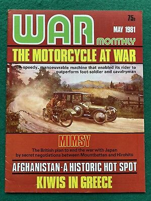 WAR MONTHLY magazine Issue 88 May 1981