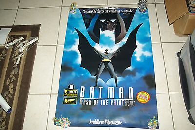 4 Vintage RARE Batman Posters all 4 OOP 80's 90's SEE PICTURES