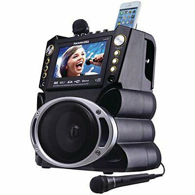 Karaoke Usa Gf844 Bluetooth[r] Karaoke Machine