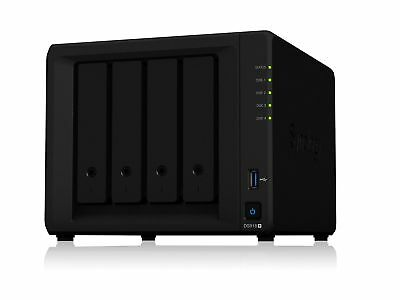 Synology Powerful and Scalable 4-bay NAS for Growing Businesses (ds918-)