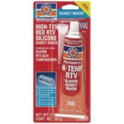 Permatex Inc 81160-CAN #26 Hi Temp Rtv Silicone Gasket Maker, 3 Ounce Tube