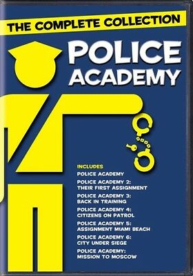 Police Academy: The Complete Collection (DVD,2004)