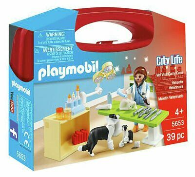 Playmobil 5653 City Life Small Vet Carry Case