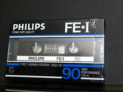 New sealed audio cassette Philips FE-I 90
