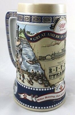 Miller High Life Great American Achievements Collectible Beer Mug 4th in Series