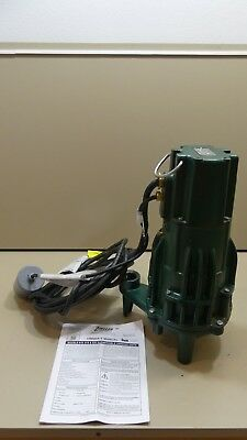 NEW Zoeller WD820-F Grinder Pump 2 HP, 230 Volts, 1 Phase, 3450 RPM 820-0030 NEW