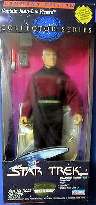 """9"""" figure Jean-Luc Picard, Star Trek Collector series Command Edition #008278"""