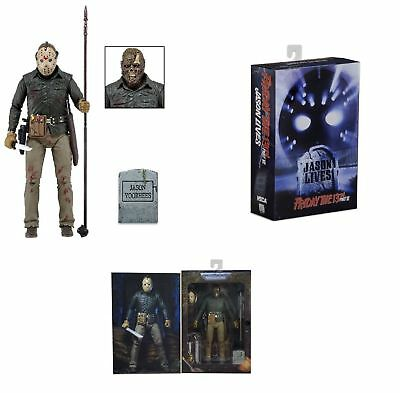 """NECA Friday The 13th Part 6 JASON VOORHEES Ultimate 7""""Action Figure JASON LIVES"""