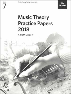 Music Theory Practice Papers 2018 ABRSM Grade 7 Past Exams SAME DAY DISPATCH