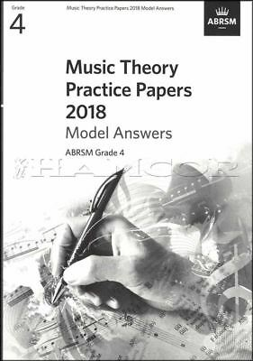 Music Theory Practice Papers 2018 Model Answers ABRSM Grade 4 SAME DAY DISPATCH