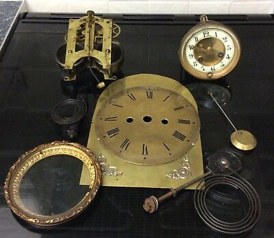 Job Lot Of Clock Parts