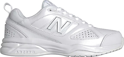 special sales attractive & durable hot sale online NEW BALANCE WX623WS3 Women's 623v3 White Leather Trainer ...