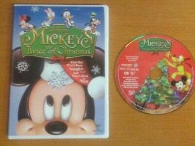 Mickey Mouse Twice Upon A Christmas Dvd.Mickey S Twice Upon A Christmas Dvd Bargain 4 90 Picclick