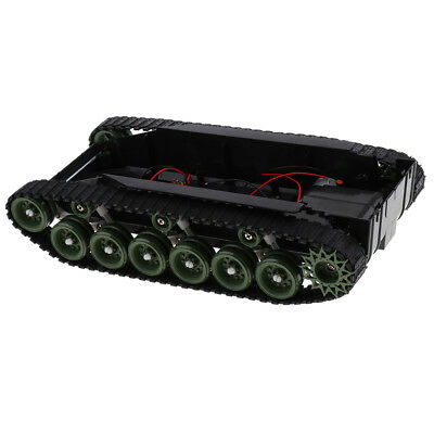 Shock Absorbed RC Robot Tank Chassis Kit Track Crawler for Arduino DIY Study