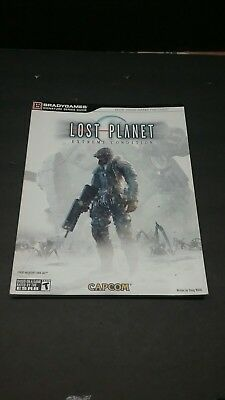 Lost Planet Extreme Condition Strategy Guide Brady Games Signature Series Capcom