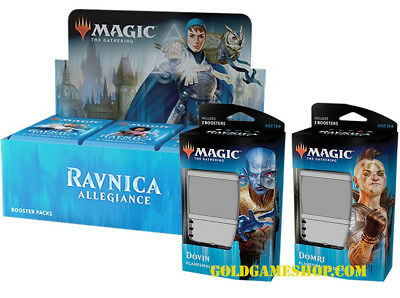 RAVNICA ALLEGIANCE Booster Box & 2 Planeswalker Decks - Magic the Gathering MTG
