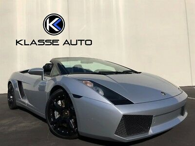 2007 Gallardo Spyder 2007 Lamborghini Gallardo Spyder Custom Exhaust Custom Interior Callisto Wheels