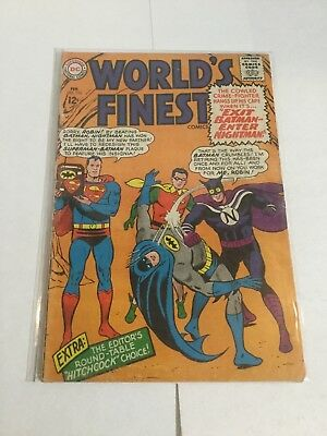 Worlds Finest 155 Gd/Vg Good/Very Good 3.0 DC Comics Silver Age