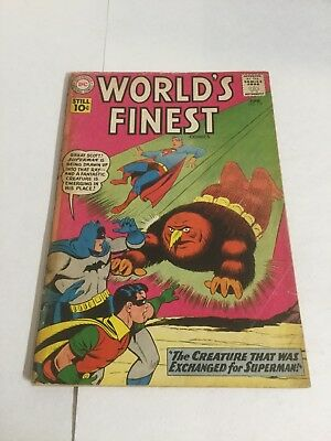 Worlds Finest 118 Gd Food 2.0 DC Comics Silver Age