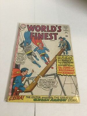 Worlds Finest 154 Gd/Vg Good/Very Good 3.0 DC Comics Silver Age