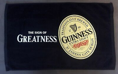 "Guinness Extra Stout Beer Bar Dish Hand Towel Cloth Brand NEW 16""x26"""