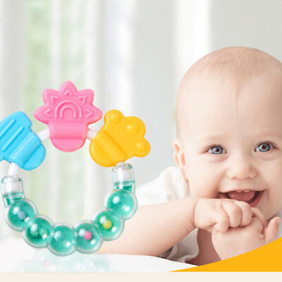 Baby teether molar infant training tooth toddler toys massager FEH