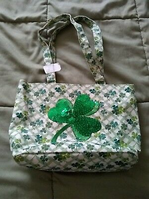 Longaberger Shamrock Design Homestead Tote or Purse - Brand New! - Without Tags