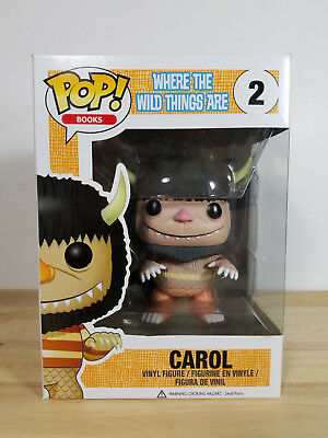 Funko Pop Books - Carol #2 - Where The Wild Things Are - Vaulted