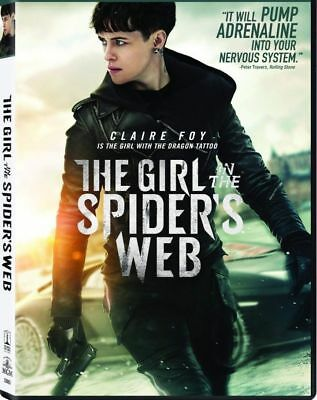 """the Girl In The Spider's Web""  (Dvd,2018)  Factory Sealed Free Shipping 2/5"