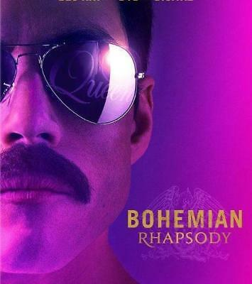"""bohemian Rhapsody'  (Dvd,2018)  Factory Sealed Free Shipping 2/12  Brand New"