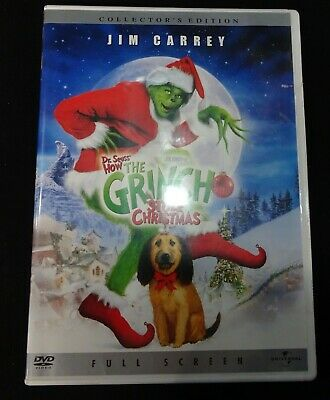 How the Grinch Stole Christmas (DVD, 2001, Full Screen) - Used