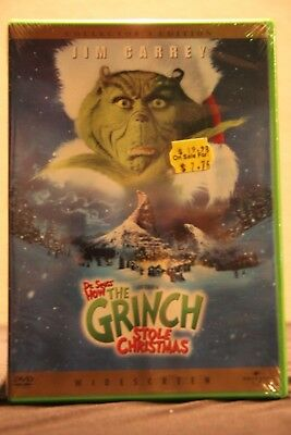 How the Grinch Stole Christmas (DVD, 2001, Widescreen) - New