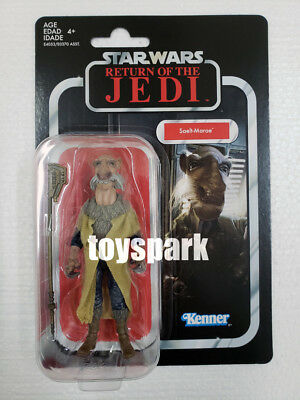 """Hasbro STAR WARS 3.75"""" The Vintage Collection SAELT-MARAE Yak Face action figure"""