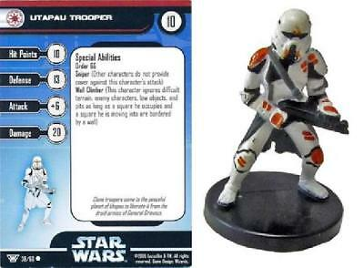 2x #16 Sith Trooper Champions of the Force Star Wars Miniatures NM