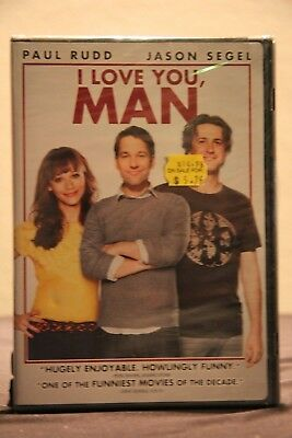 I Love You, Man (DVD, 2013) - New