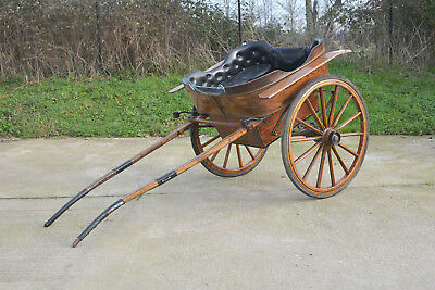 horse drawn cart old vintage governess cart pony horse cart trap wooden cart