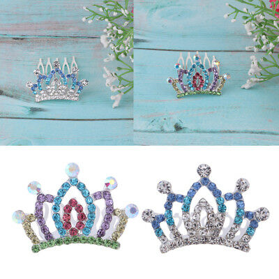 Girl Doll Princess Crystal Tiara Crown For Monster High School Doll Outfits