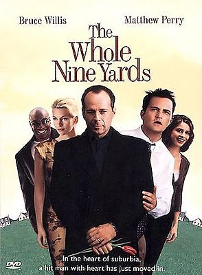 The Whole Nine Yards - Bruce Willis, Matthew Perry Widescreen & Full (DVD, 2000)