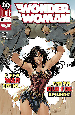 Wonder Woman #58 Dc Universe - 1St Print - Bagged And Boarded. Free Uk P+P!