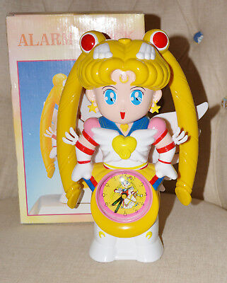 Eternal Sailor Moon Working Alarm Clock with box! Unofficial but high quality!