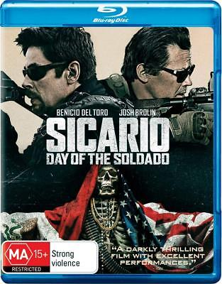 Sicario Day of the Soldado (Blu-ray 2018) dvd/digital not included Free Shipping