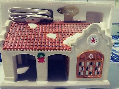 NEW 1996 TEXACO LIMITED EDITION PORCELAIN OAKLAWN FILLING STATION Free Shipping*