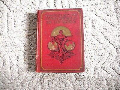 Vintage 1921 Winston's New And Complete Atlas Of The World
