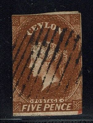 Ceylon SG# 5 - Used - Lot 022116