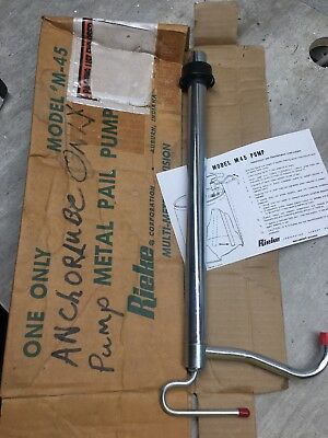NEW IN BOX! Rieke M-45 Metal Pail Pump | FAST SHIPPING!