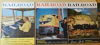 Railroad Magazine Complete Year 1955 9 issues