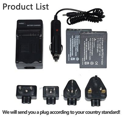 Battery /charger For Fujifilm NP-W126S XT2 Xt3 XE2S xe3 XA2 XA3 XA5 XT100 W126