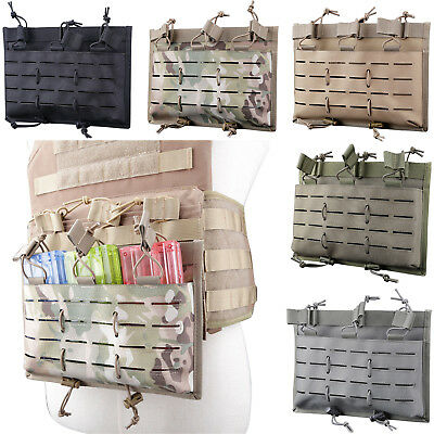 Nylon Tactical 5.56 Magazine Pouch MOLLE Mag Adjustable Tension Rope Hunting Bag